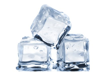 Лед пищевой кубик